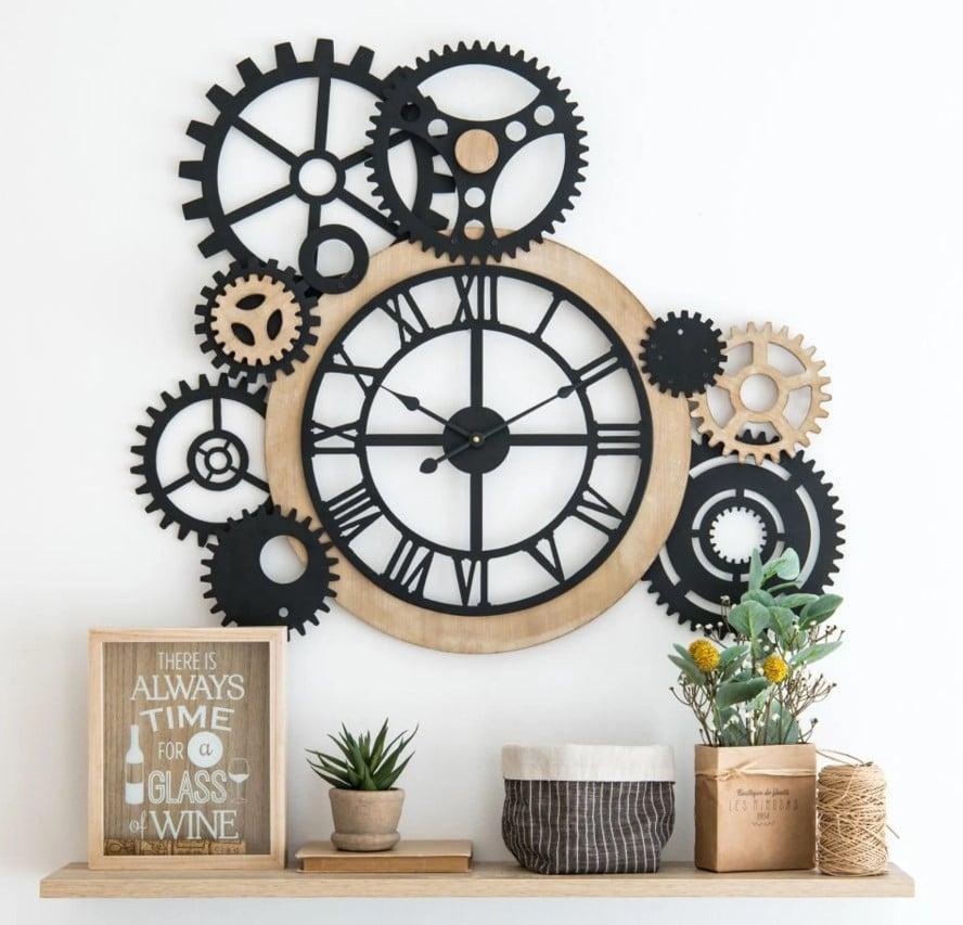 Horloge à Rouages