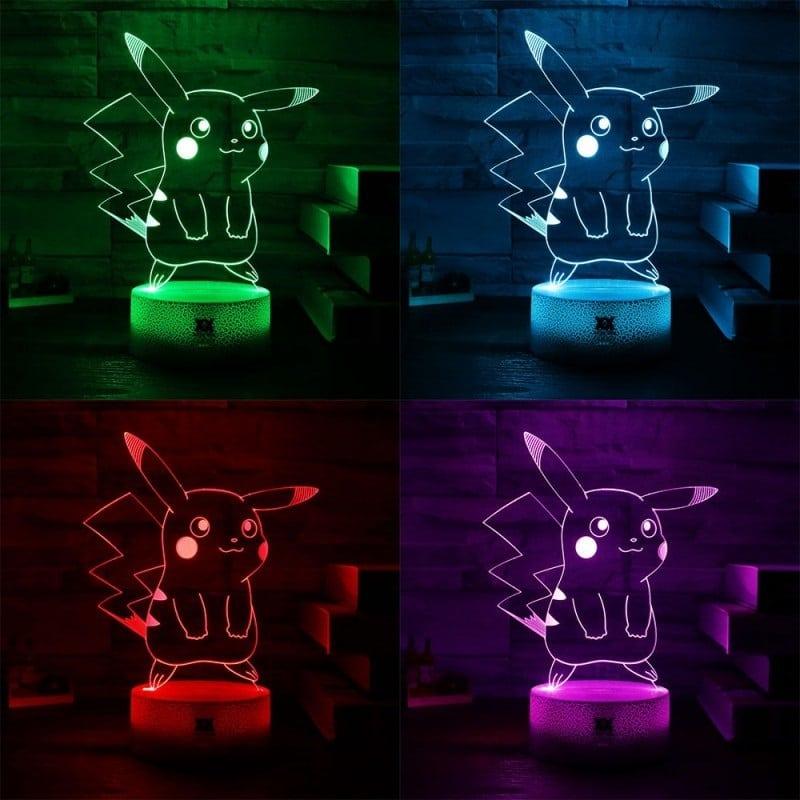 Lampes Pikachu