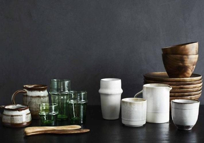 Vaisselle De Style Wabi Sabi