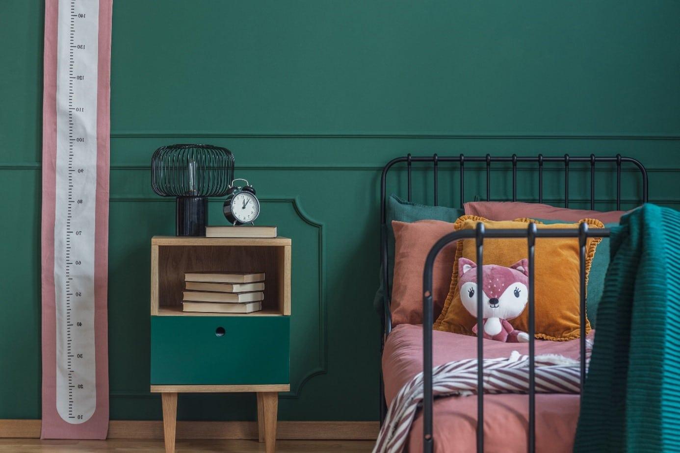 Chambre Enfant Vert Canard