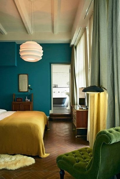 Chambre Verte Et Jaune