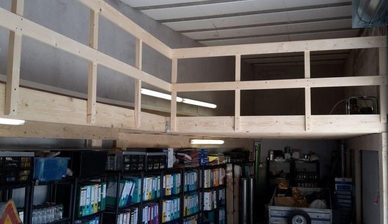 Garage Avec Mezzanine