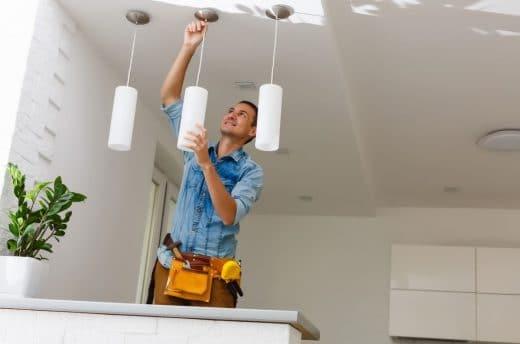Installer Luminaire Suspendu Plafond