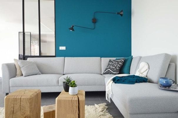 Mur Bleu Pétrole