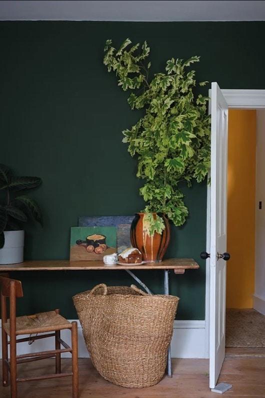 Un Mur Vert Canard