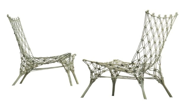 Chaise Knotted Chair