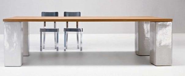 Table Bois Et Céramique