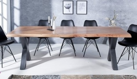 Table Pieds X