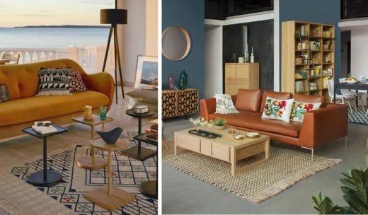 Aménager Salon Avec Un Canapé Habitat
