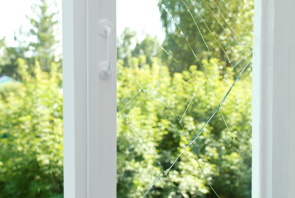 Fenêtre Fissurée