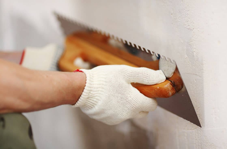 Préparer Mur Pose Tadelakt