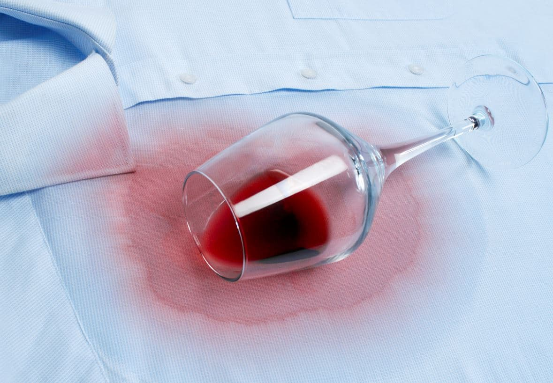 Tache Vin Rouge Chemise
