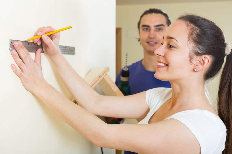 Fixer étagère Murale