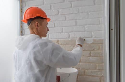 Peindre Mur De Brique
