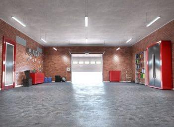 Sol Garage Béton