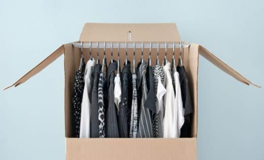 Déménagement Vêtements
