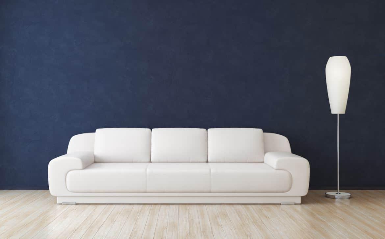 Canapé En Cuir Blanc