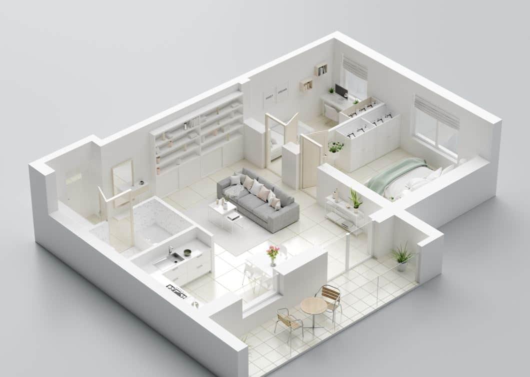 Plan Maison Disposition Des Pièces