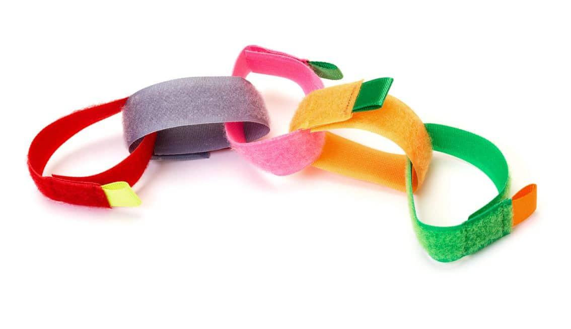 Bandes Velcro De Couleur