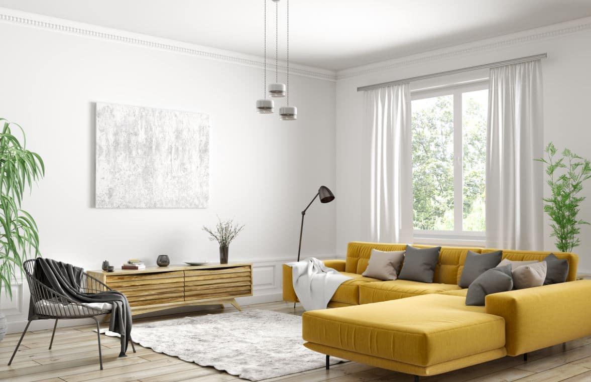 Mur Blanc Salon
