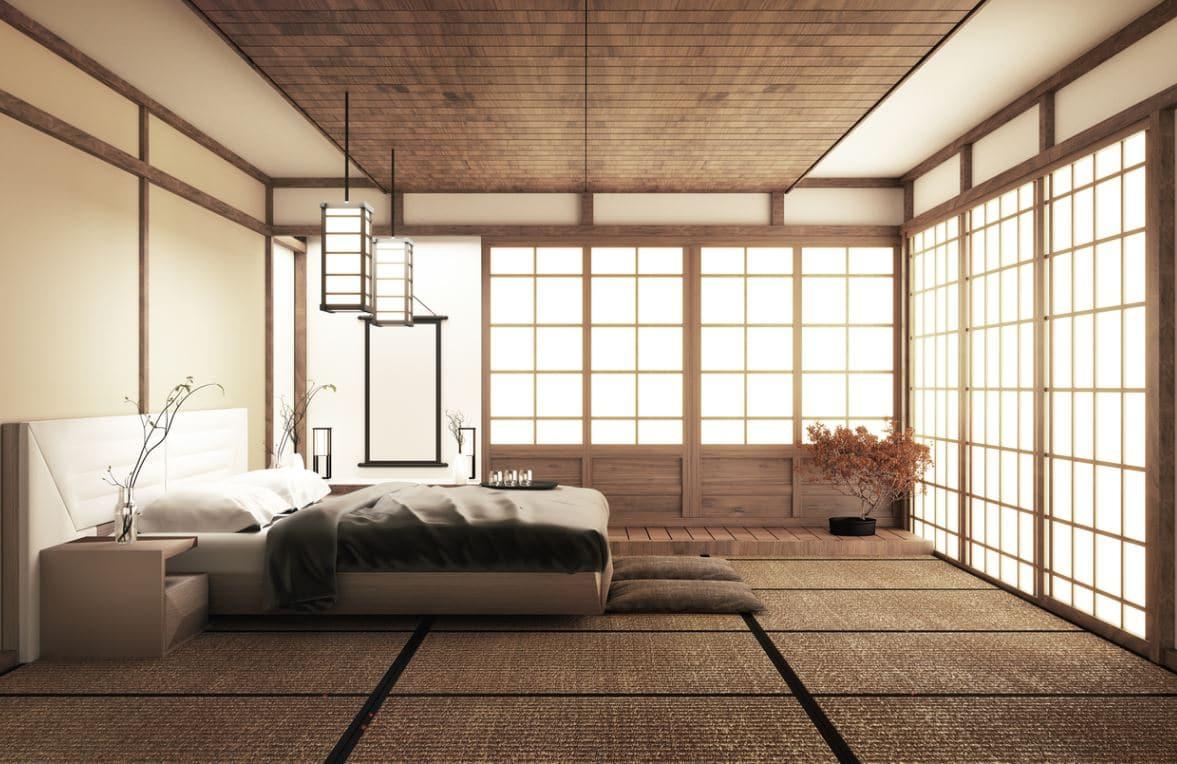 Chambre Déco Japonaise