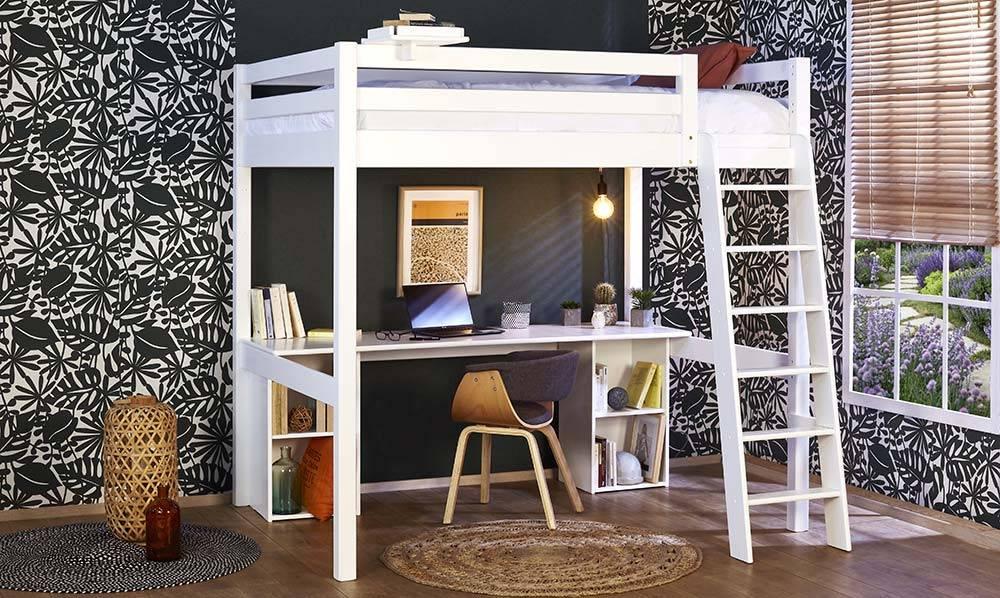 lit mezzanine chambre petit espace