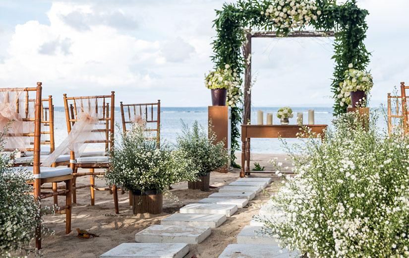 décoration mariage fête plage